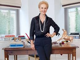 Diseñadora de modas Carolina Herrera