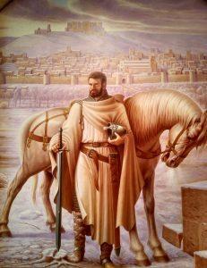 Babieca y el Cid Campeador