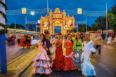 la Feria de Abril de Sevilla - Cultura española