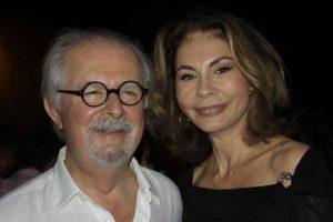Fernado Bottero junto a su esposa Sophia Vari