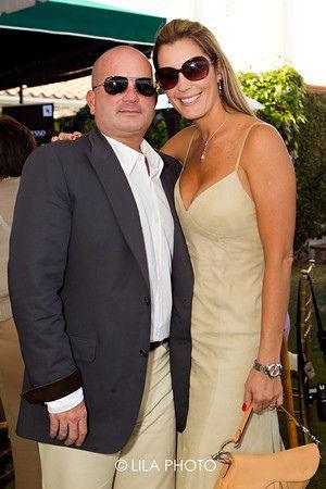 Carolina Chapellín y su esposo Gustavo Mirabal