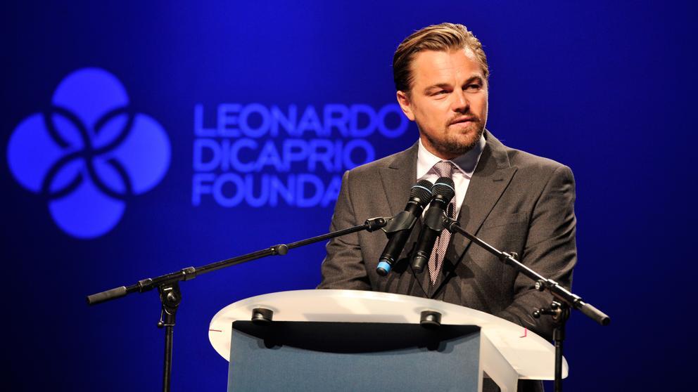 Leonardo Di Caprio: El filantrópo del medio ambiente