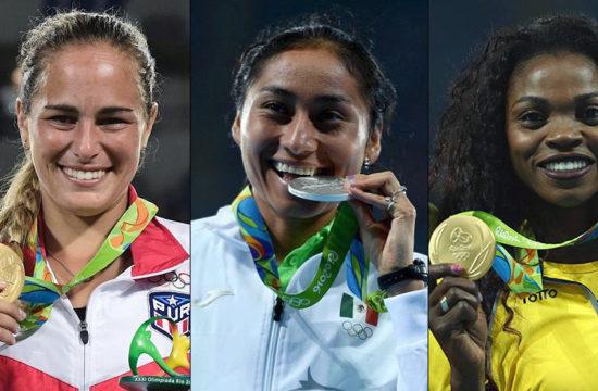 Mujeres participantes en las Olimpiadas
