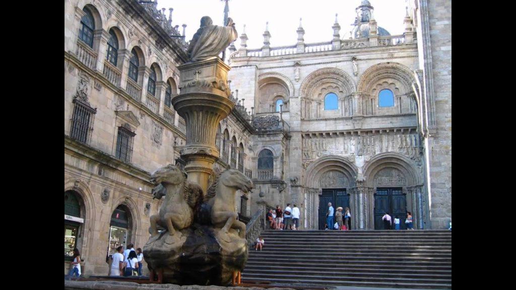 España y sus lugares turísticos: Santiago de Compostela
