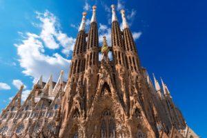 España y sus lugares turísticos: Sagrada Familia en Barcelona