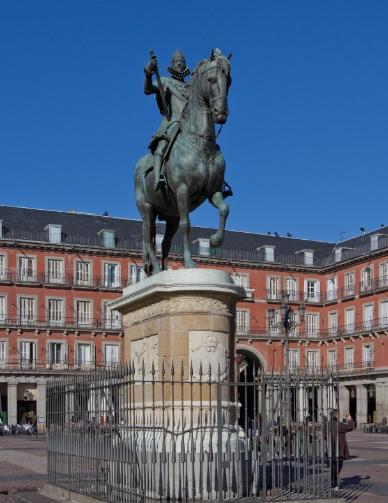 Estatua Ecuestre de Felipe III- Plaza Mayor Madrid