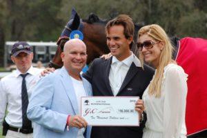 Gustavo-Mirabal-G&C-Andres-Rodriguez-gana-premio-en-1.45m-Table-II-de-G&C-Farm