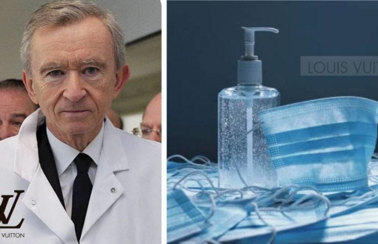 Louis Vuitton produce gel antibacterial contra coronavirus