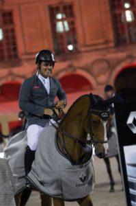 Sergio Álvarez Moya y el caballo G&C Arrayan