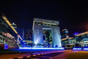 Centro financiero internacional de Dubái