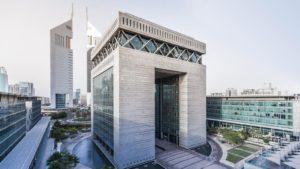Dubái oficina en el centro-financiero