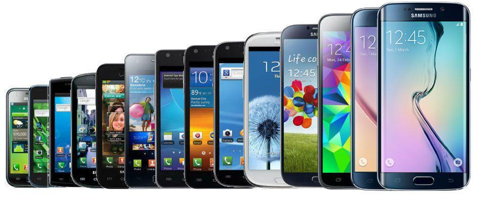 Modelos de teléfonos inteligentes