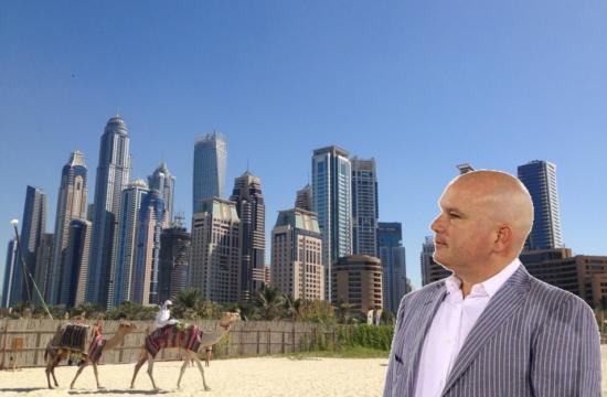 Gustavo Mirabal en Dubái