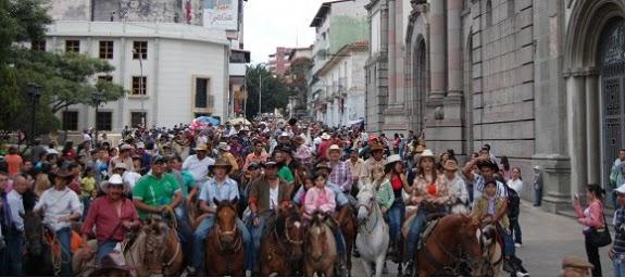 Cabalgata feria Internacional del Sol - Estado Mérida, Venezuela