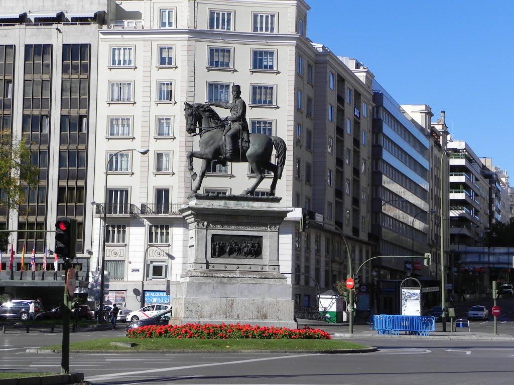 Plaza Doctor Marañon Madrid España