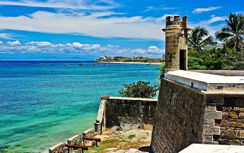 Castillos y fortines en Margarita
