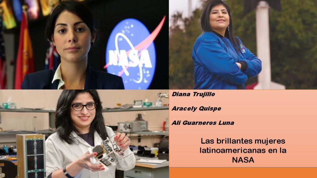 Las mujeres en el espacio