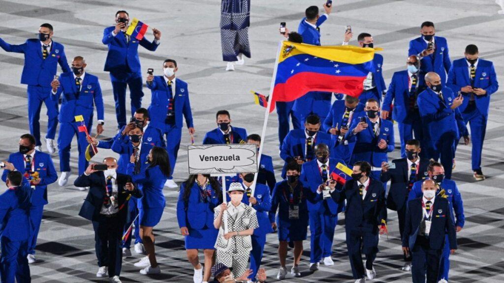 Atletas venezolanos en los Juegos Olímpicos
